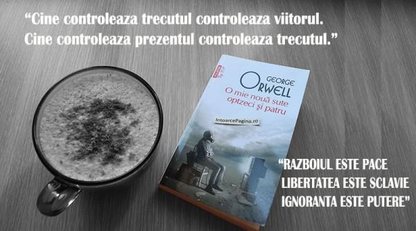 O mie noua sute optzeci si patru – George Orwell intoarcepagina 800x445