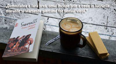 Saramago despre viziune